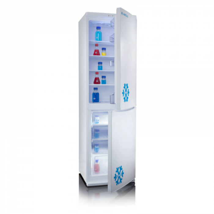 Laboratory fridge freezer